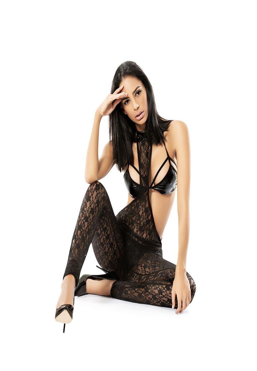 Vip Madame Fantezi Taytlı Dantel Elbise