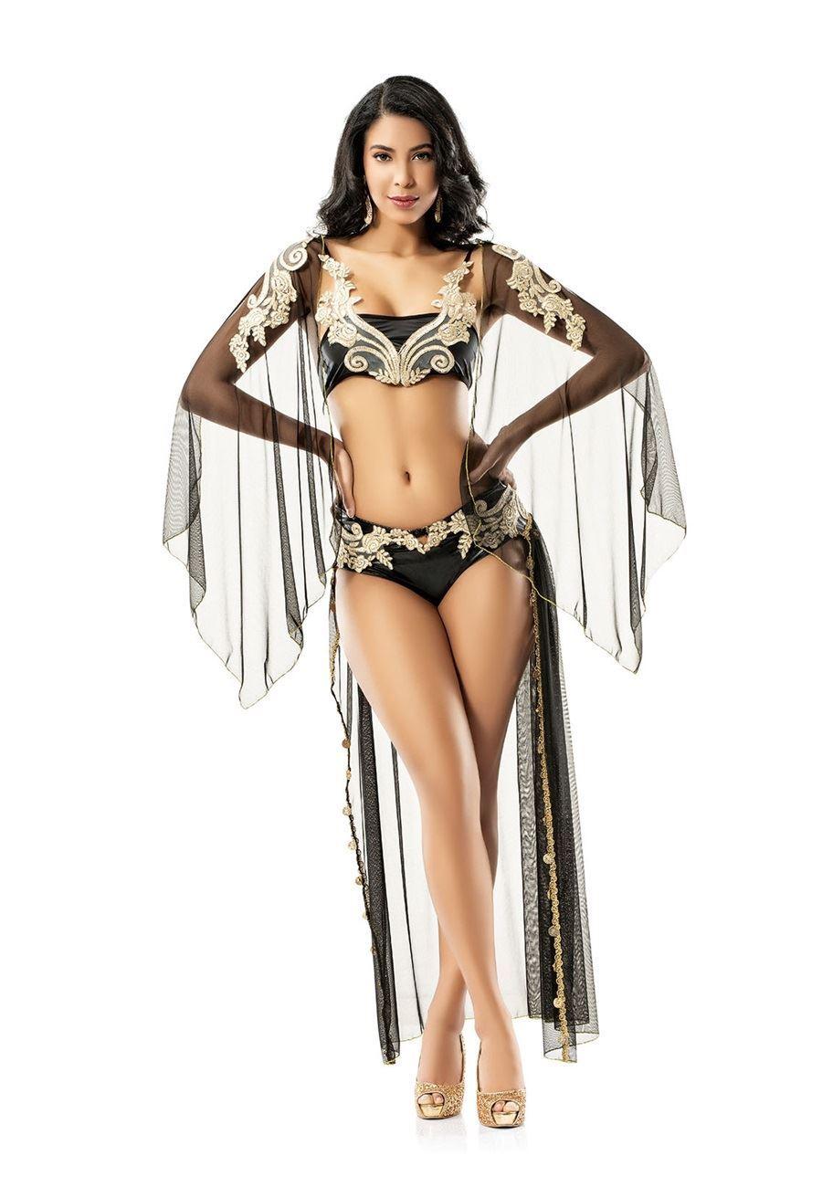 Vip Madame Kadın Güpürlü Fantezi Oryantel Kostüm
