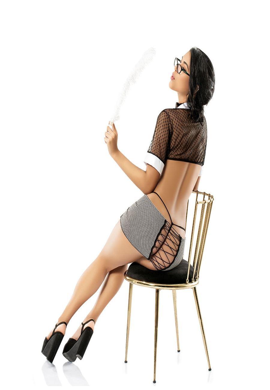 Vip Madame Kadın Fantezi Sekreter Kostüm