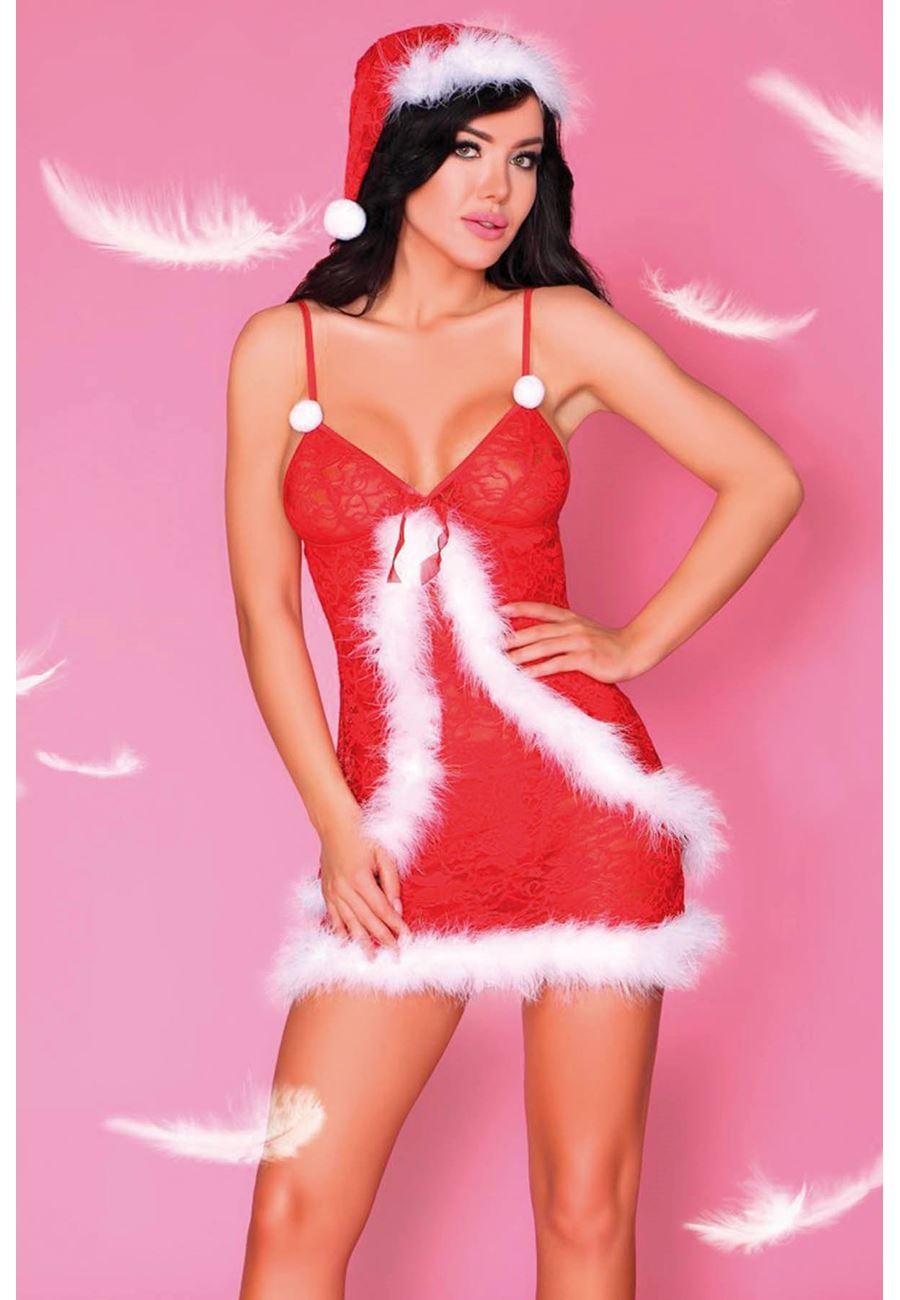 Vip Madame Kadın Noel Yıl Başı Gecelik Kostüm
