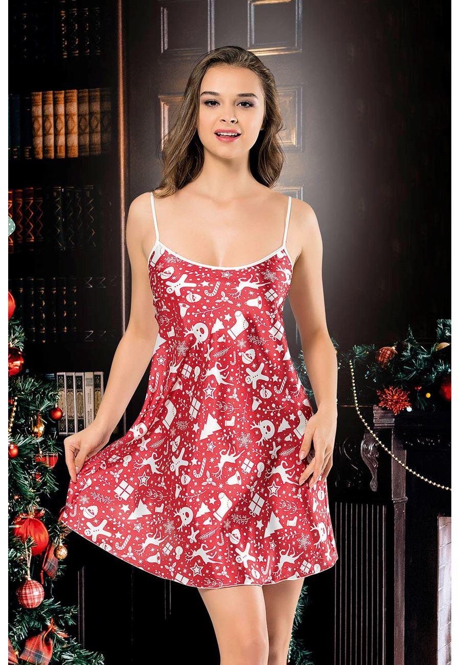 Vip Madame Kadın Noel Yıl Başı Gecelik