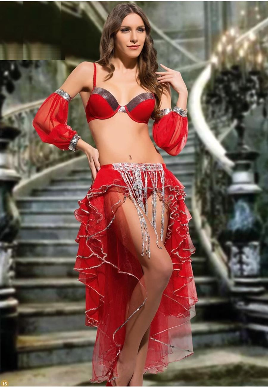 Vip Madame Kadın Fantezi Dansöz Kostüm