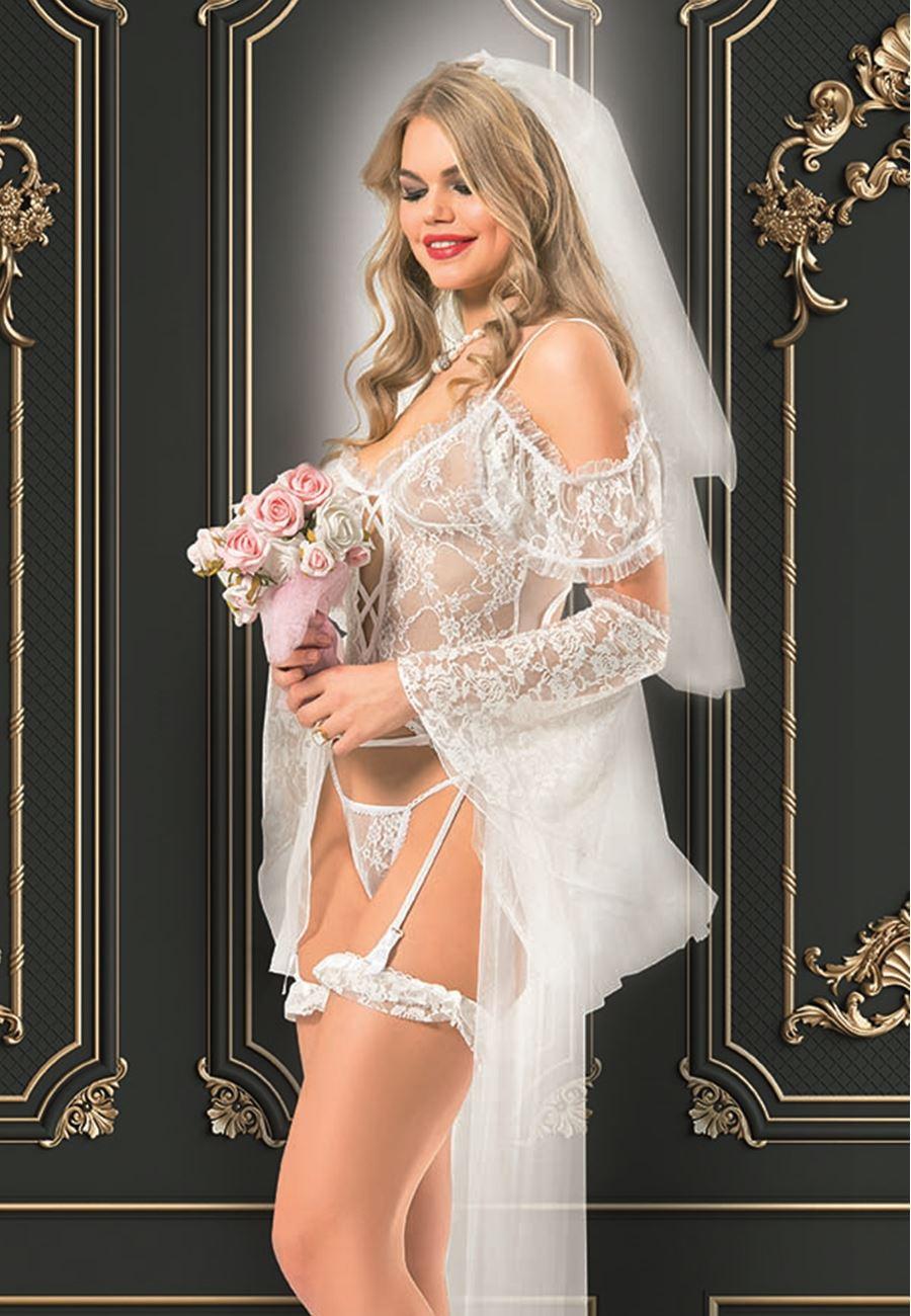 Vip Madame Kadın Fantezi Gelin Kostüm