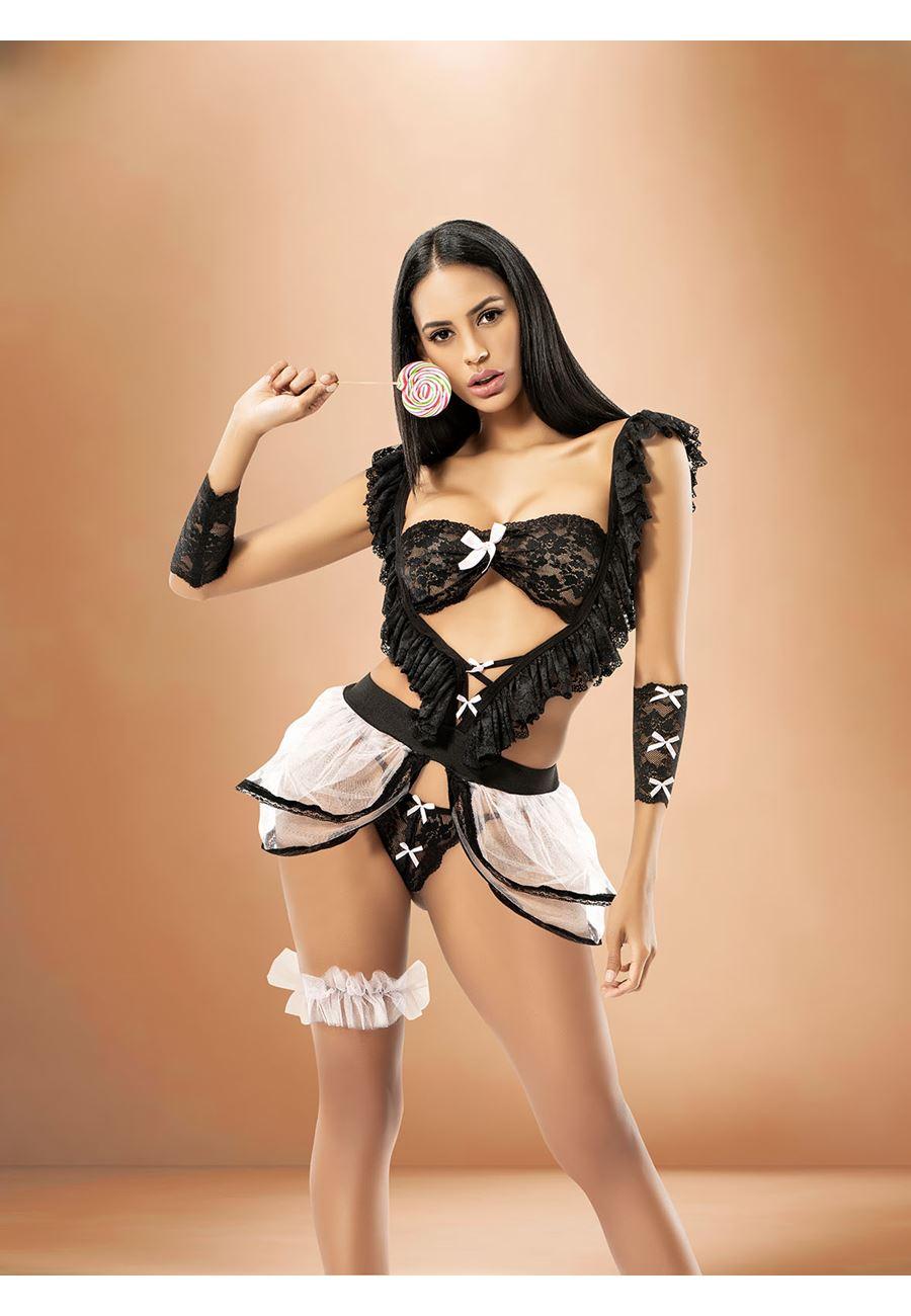 Vip Madame Hizmetçi Kostüm