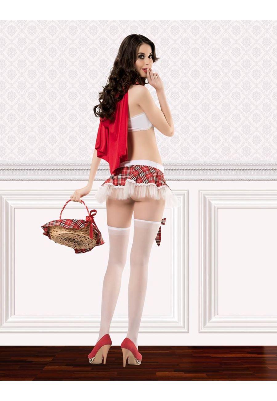 Vip Madame Kırmızı Başlıklı Kız Kostüm