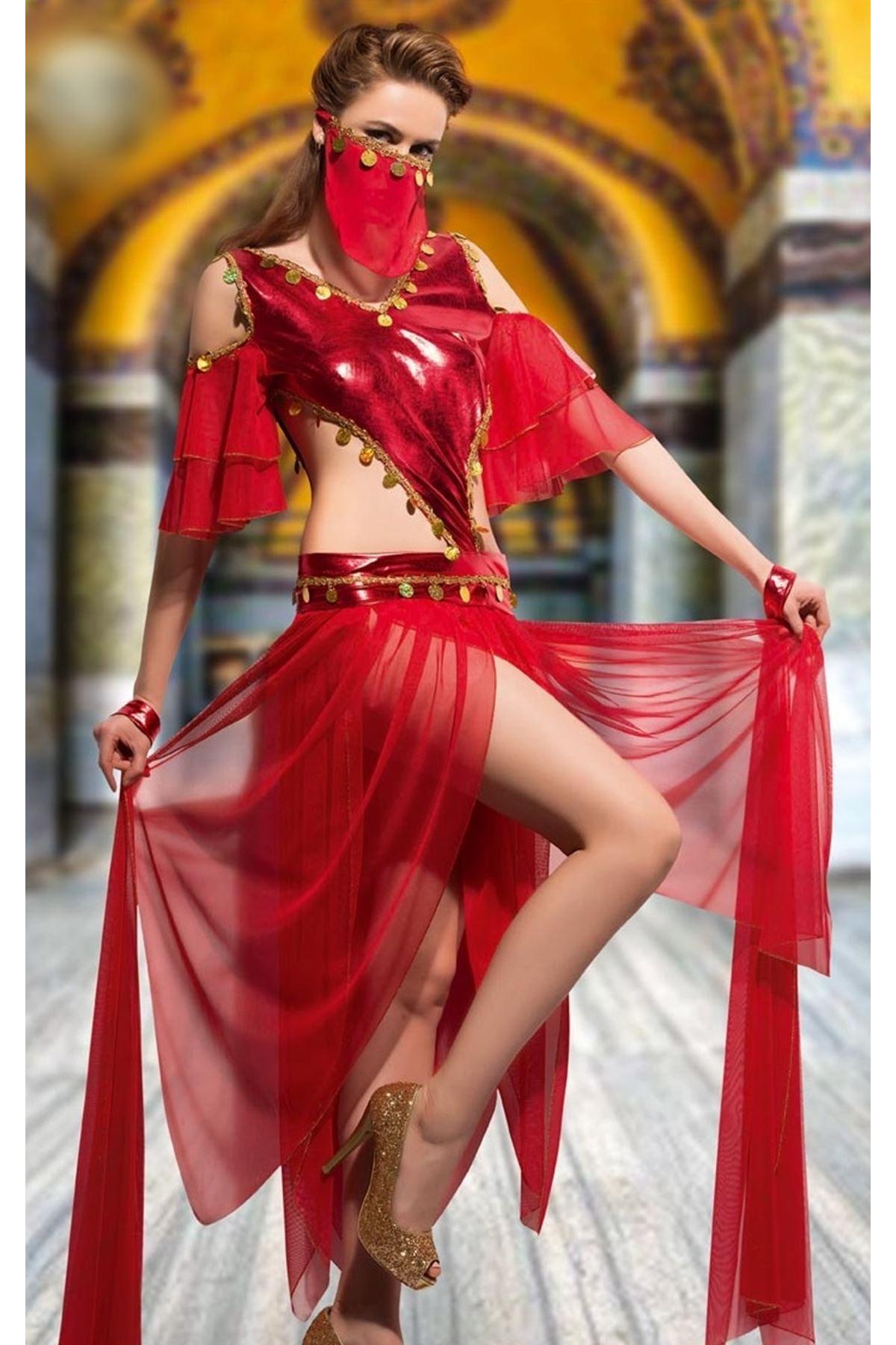Vip Madame Kadın Fantezi Oryantel Dansöz Kostüm