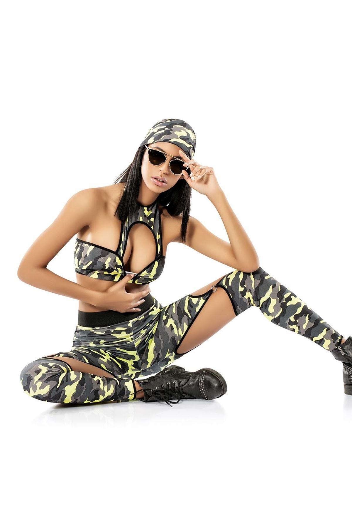 Vip Madame Kadın Asker Kostümü