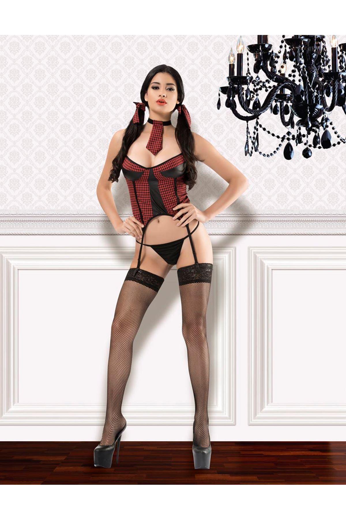 Vip Madame Kadın Fantezi Lolita Kostüm