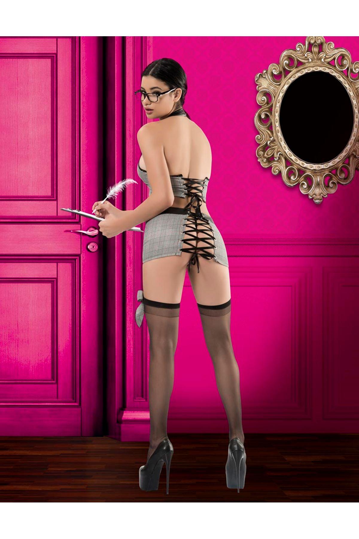 Vip Madame Fantezi Sekreter Kostüm