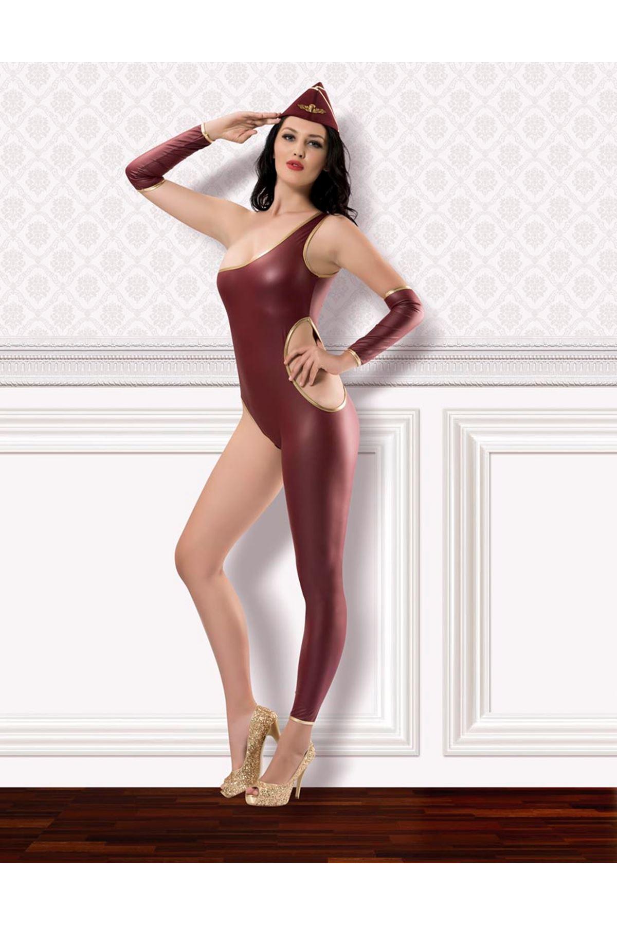 Vip Madame Fantezi Hostes Kostüm