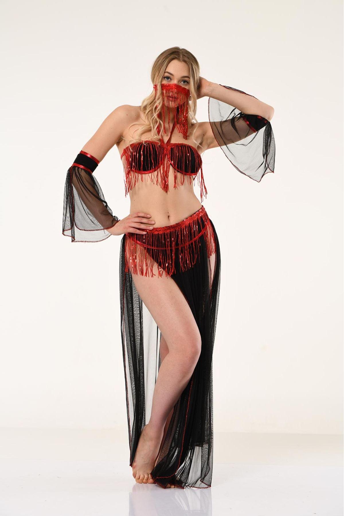 Vip Madame Kadın Dansöz Kostüm